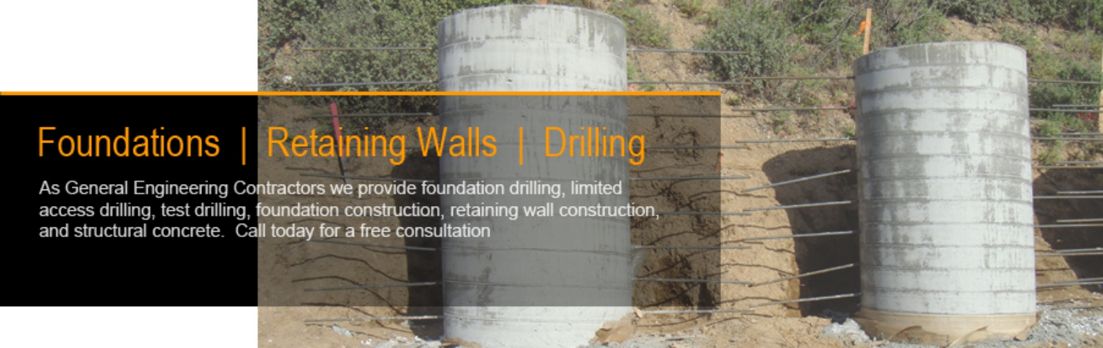 Los Angeles Foundation Contractor Drilling Grading